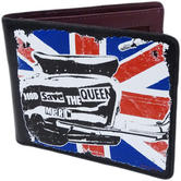 Merc Union Jack Wallet - Black PU Card / Coin / Note Holder