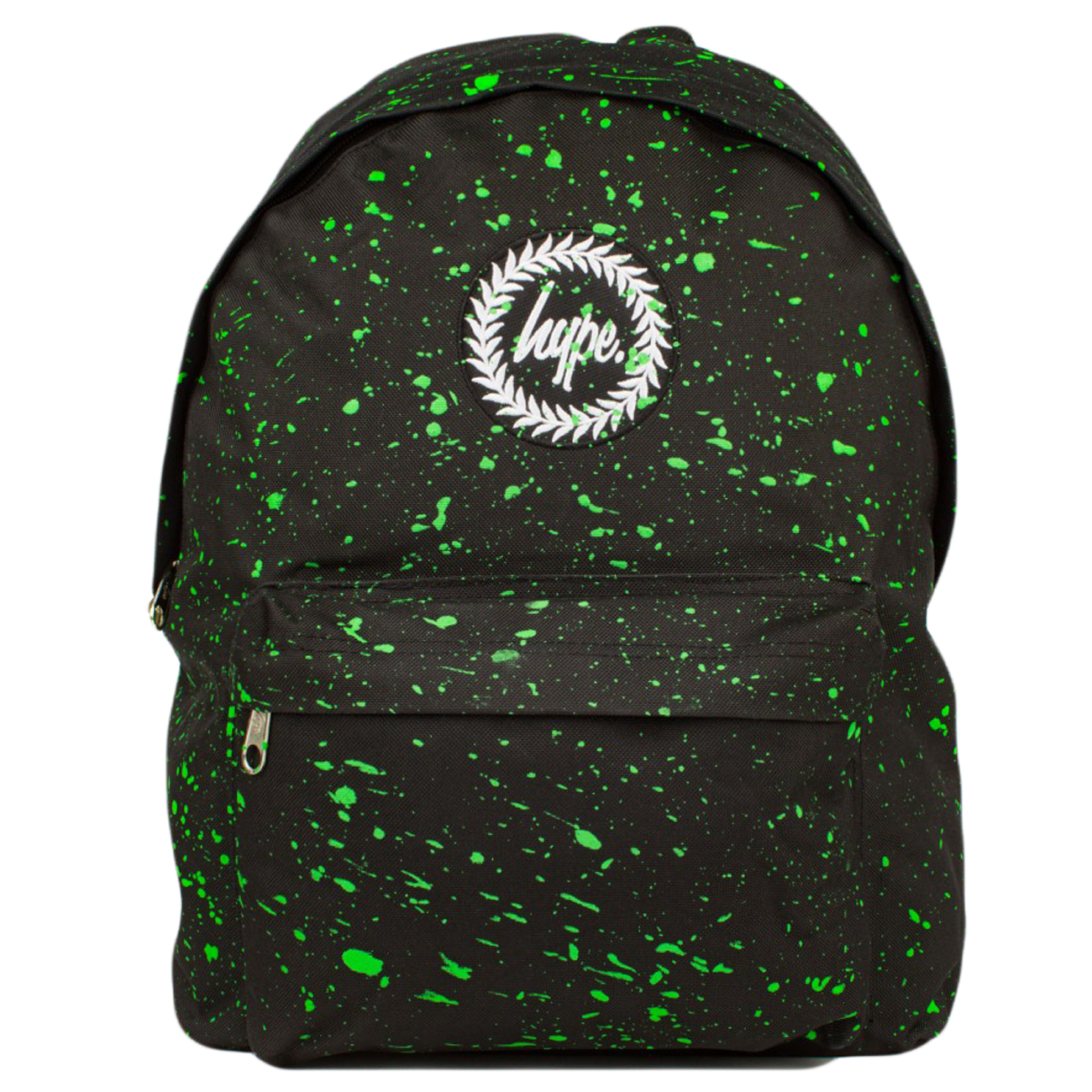 Sentinel Just Hype Backpack Bag Black and Green Speckled 96c28bcd2ca28