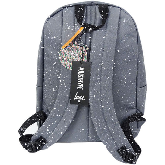 Hype Backpack Bag Grey and White Speckled Thumbnail 2