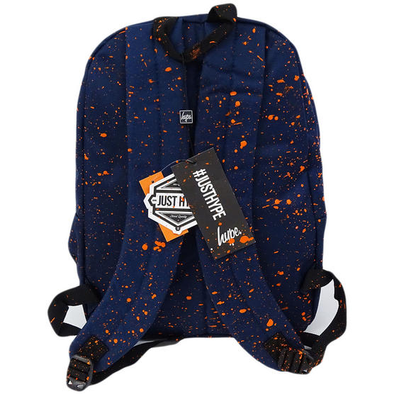 Hype Backpack Bag Navy and Orange Speckled Thumbnail 2