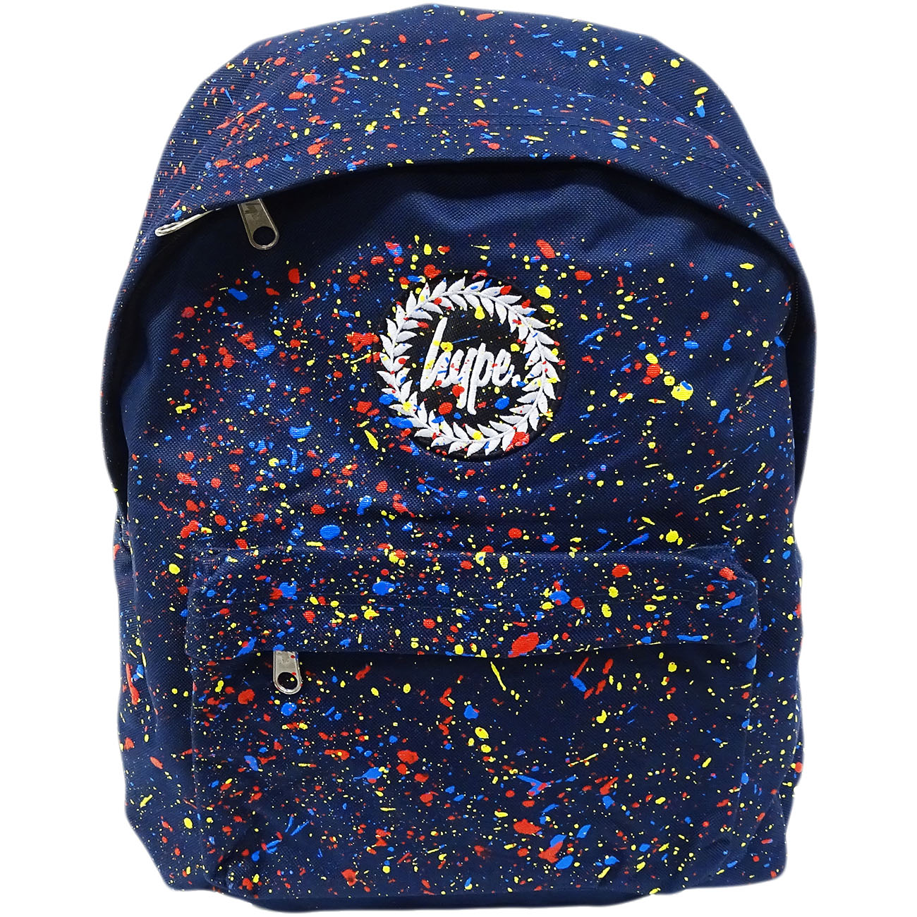 Hype Backpack Bag Navy and Multi Speckled