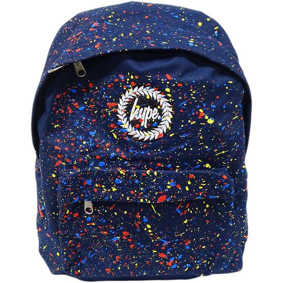 Hype Backpack Bag Navy and Multi Speckled Thumbnail 1