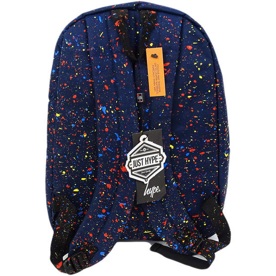 Hype Backpack Bag Navy and Multi Speckled Thumbnail 2