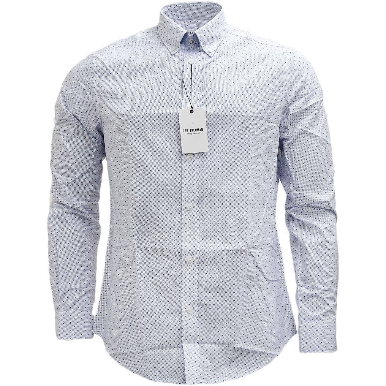 Mens Shirts Ben Sherman Long Sleeve Shirt