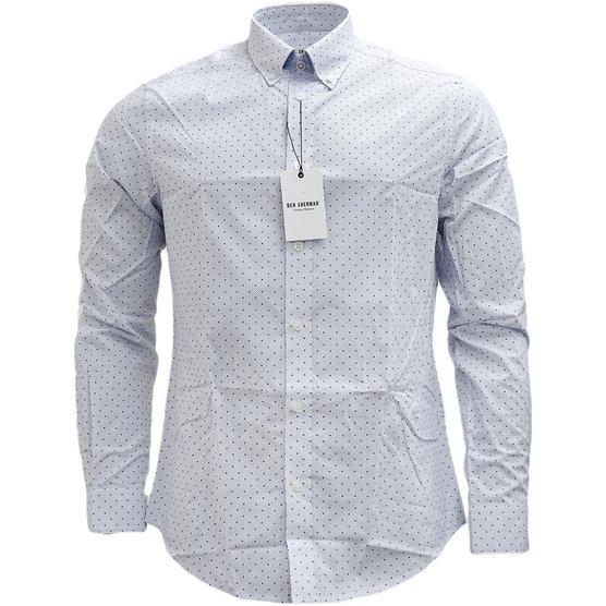 Mens Shirts Ben Sherman Long Sleeve Shirt Thumbnail 1