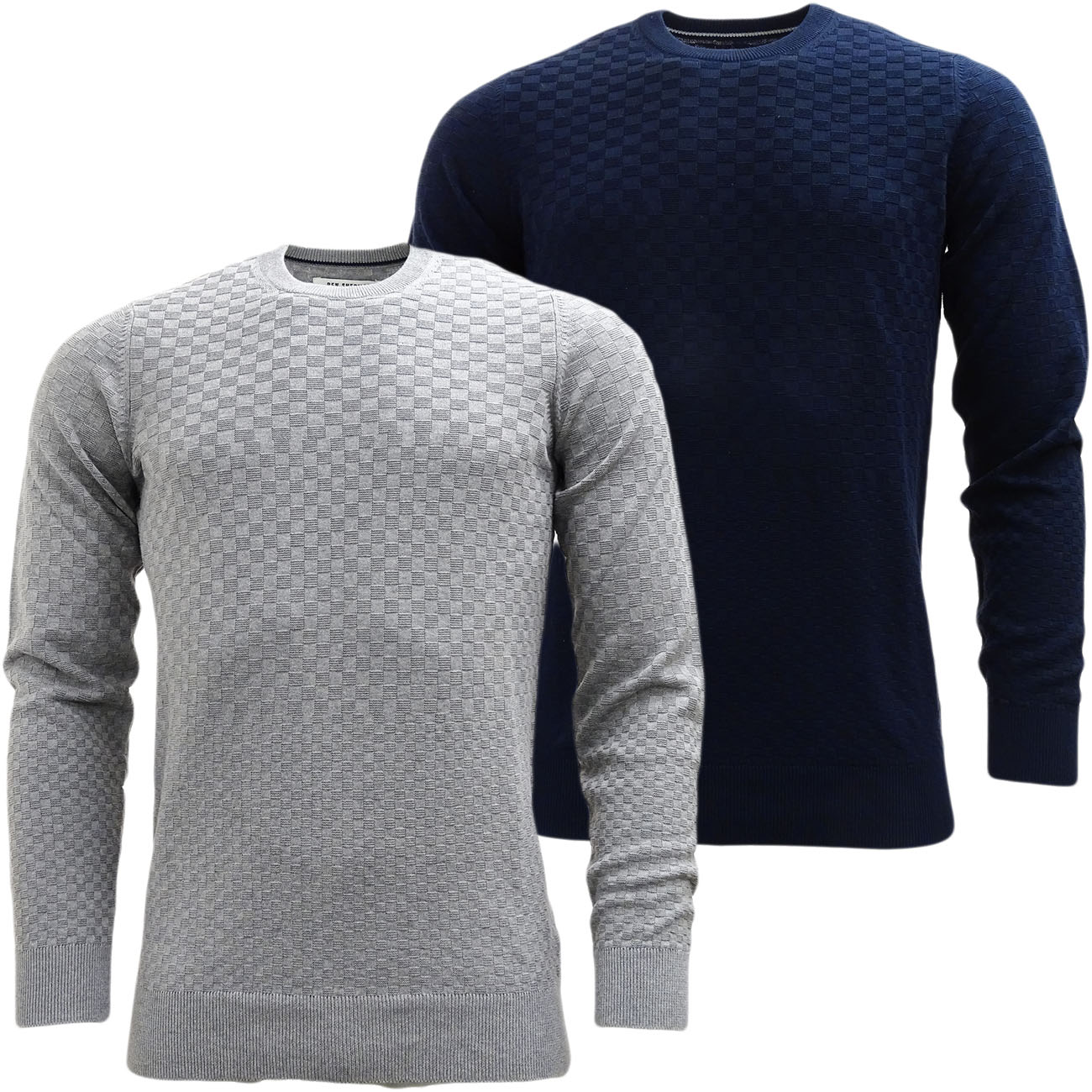 Mens Jumpers Ben Sherman Knitwear Jumper Lightweight Knitted Top