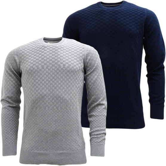 Mens Jumpers Ben Sherman Knitwear Jumper Lightweight Knitted Top Thumbnail 1