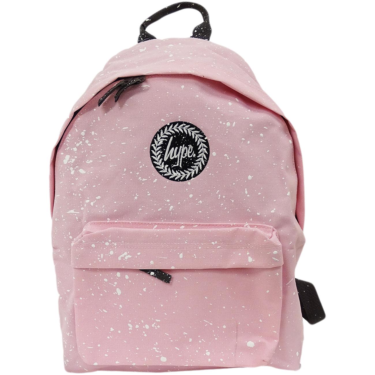 Hype Backpack Bag - School / Work / Gym Backpack - Baby Pink