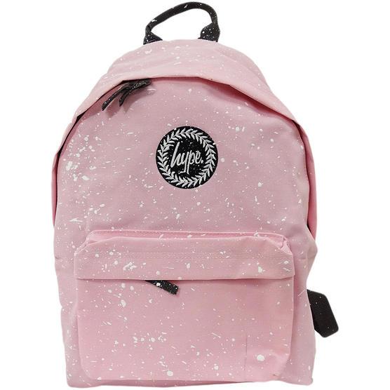 Hype Backpack Bag - School / Work / Gym Backpack - Baby Pink Thumbnail 1