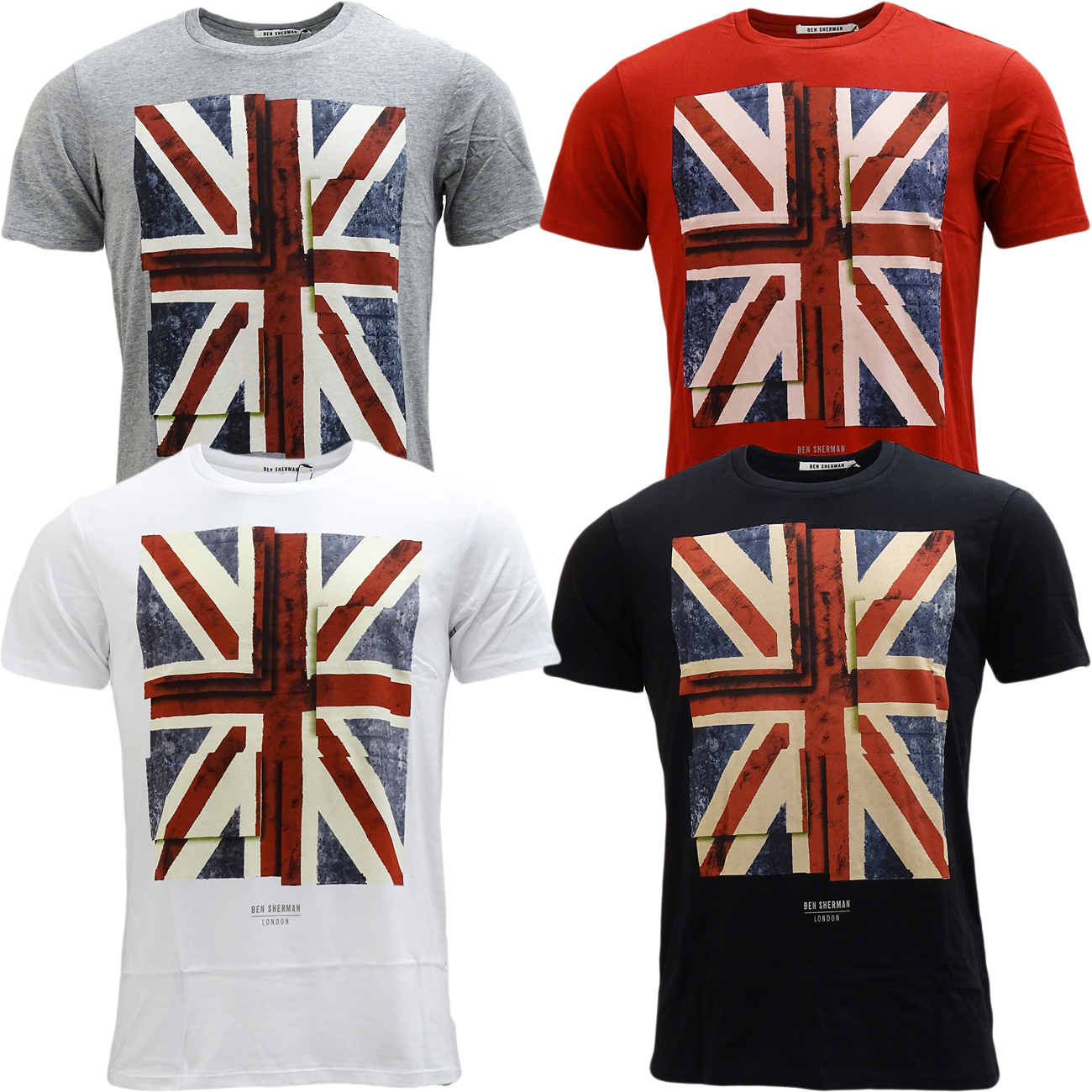 Ben Sherman Union Jack T-Shirt