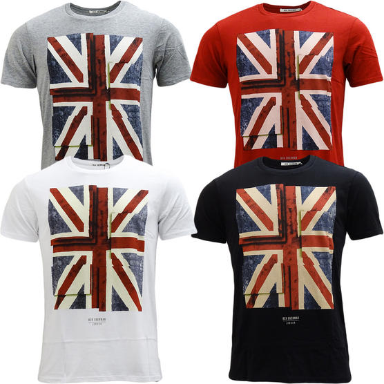 Ben Sherman Union Jack T-Shirt Thumbnail 1