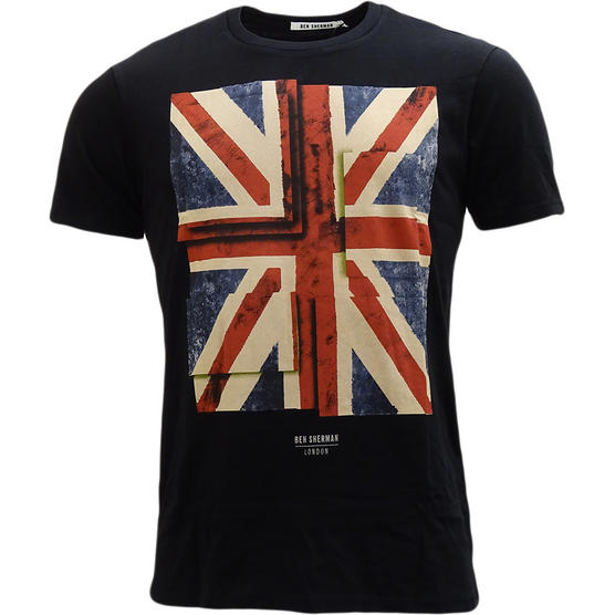 Ben Sherman Union Jack T-Shirt Thumbnail 2