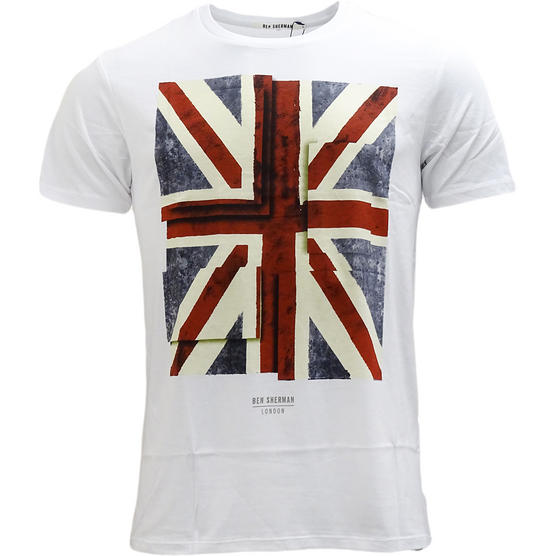 Ben Sherman Union Jack T-Shirt Thumbnail 3