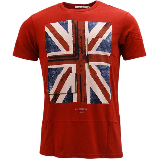 Ben Sherman Union Jack T-Shirt Thumbnail 4
