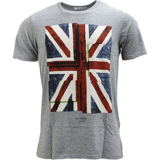 Ben Sherman Union Jack T-Shirt Thumbnail 5