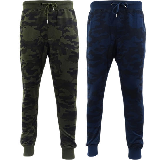 Mens Joggers Brave Soul Lightweight Camouflage Jogger Thumbnail 1