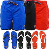 Toyko Laundry Swimming Short with FREE Flip Flops