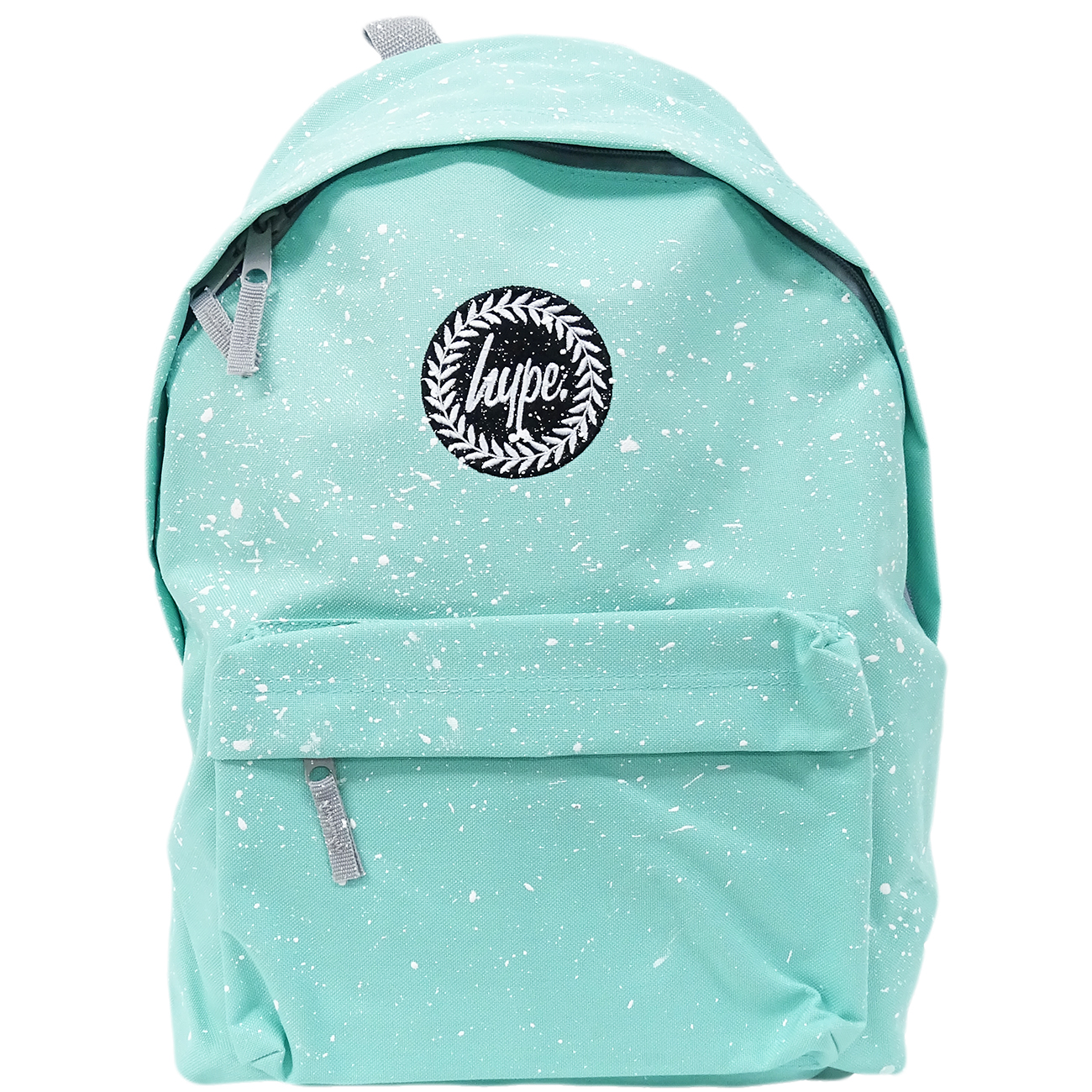 Hype Backpack Speckled Mint with White