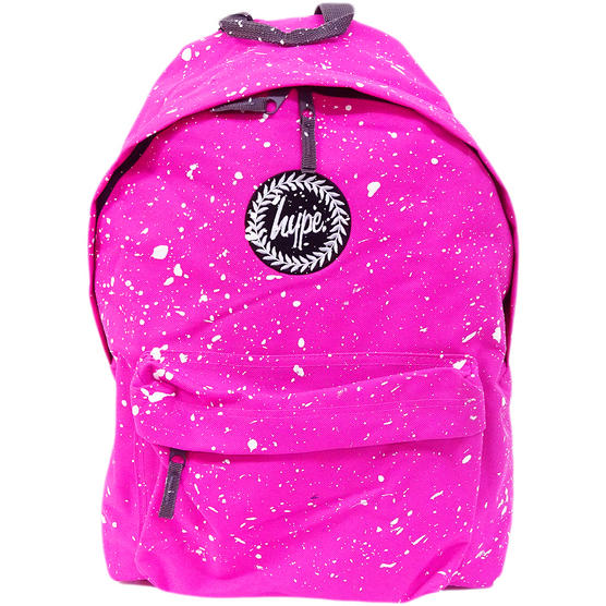 Hype Backpack Speckled Fuscia with White Thumbnail 1