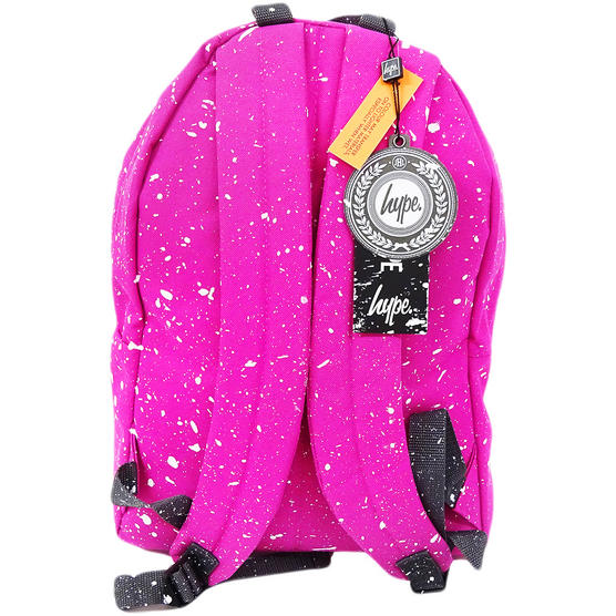 Hype Backpack Speckled Fuscia with White Thumbnail 2