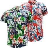 Mens Soul Star Lightweight Flower Shirt - Floral Shirts - Riveria