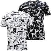 Criminal Damage All Over Scribble T Shirt