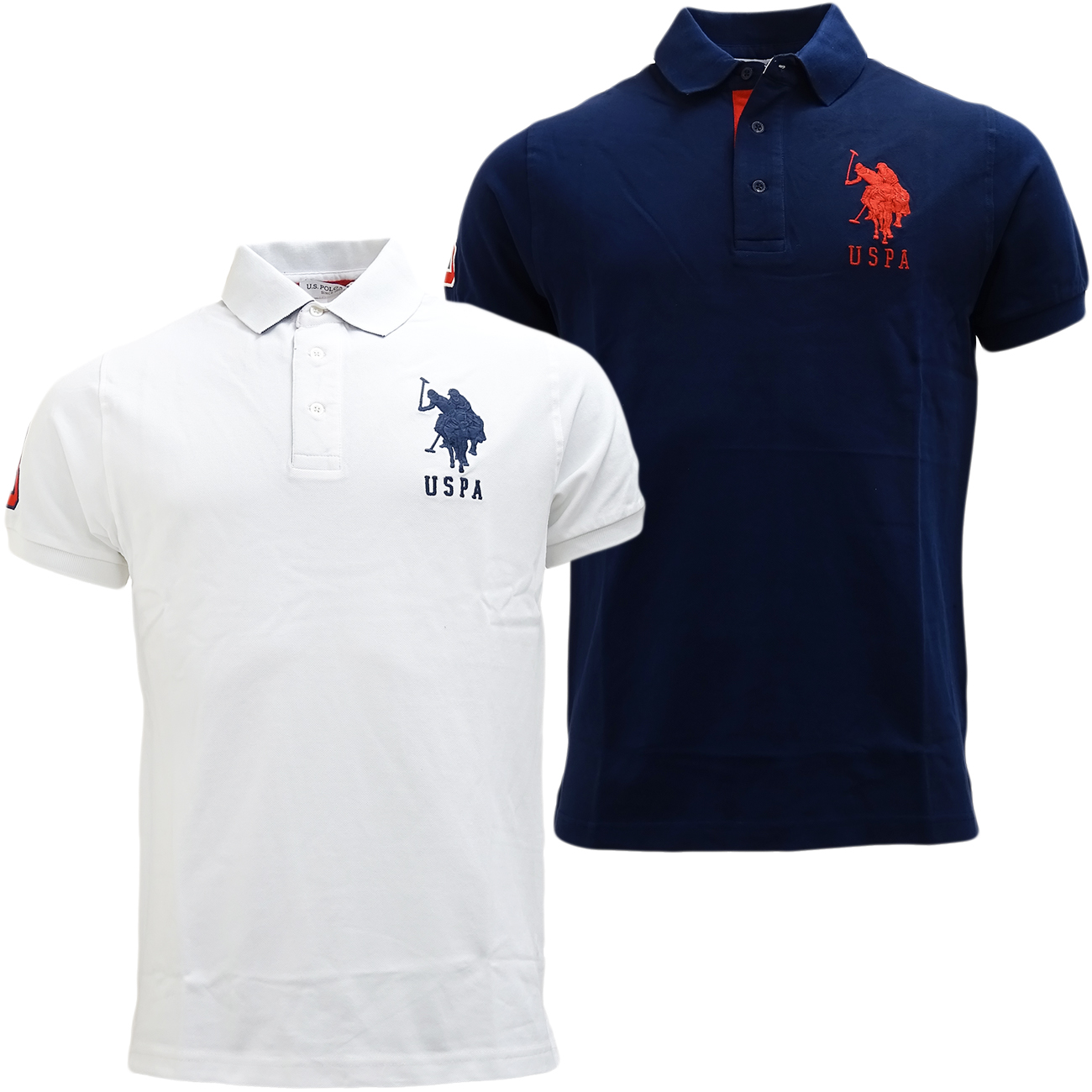mens polo shirt u s polo assn plain polos horse logo. Black Bedroom Furniture Sets. Home Design Ideas