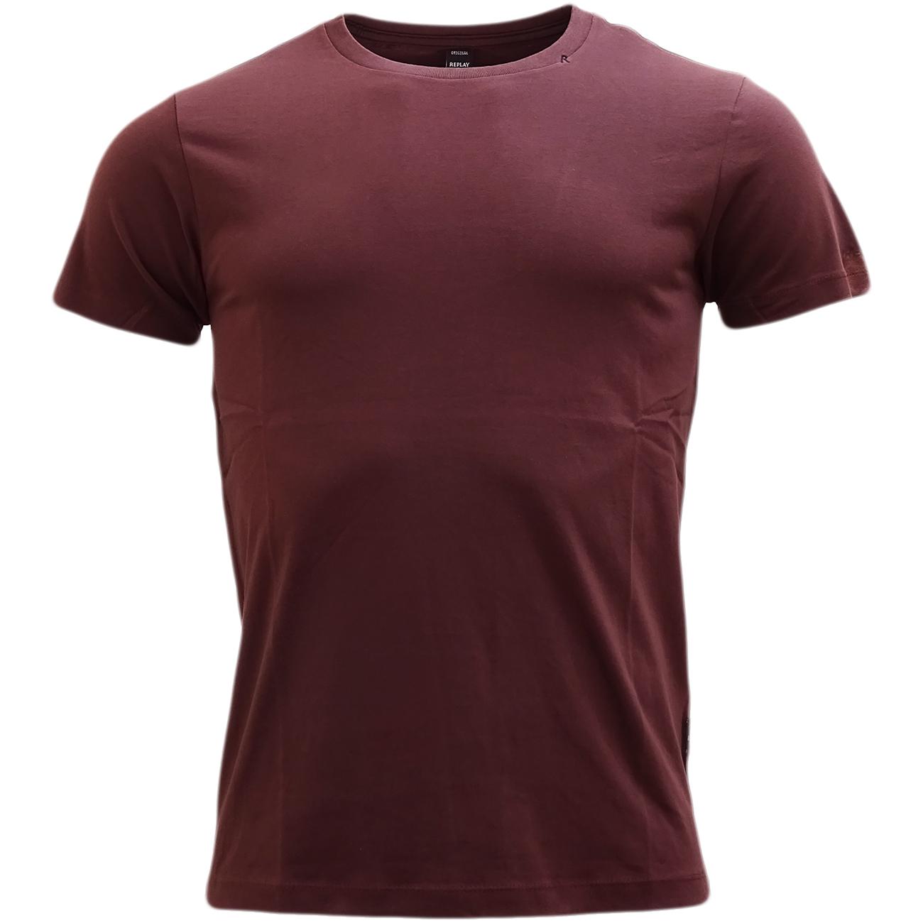 replay plain slim fit t shirt m3039 t shirts mr h. Black Bedroom Furniture Sets. Home Design Ideas