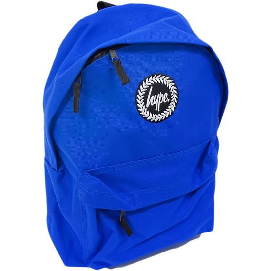 Hype Backpack Plain Royal Blue Bag Thumbnail 1
