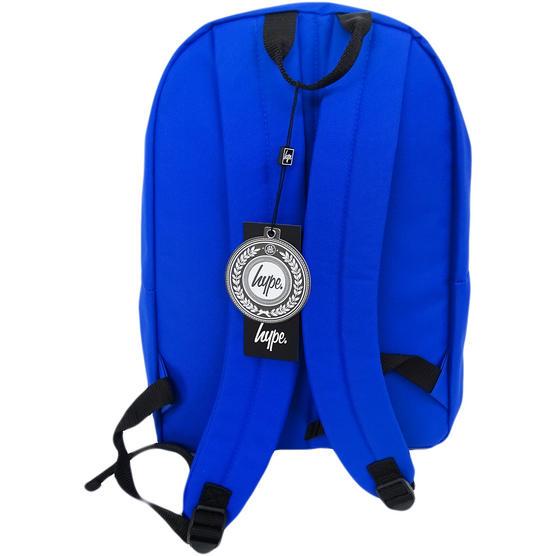 Hype Backpack Plain Royal Blue Bag Thumbnail 2