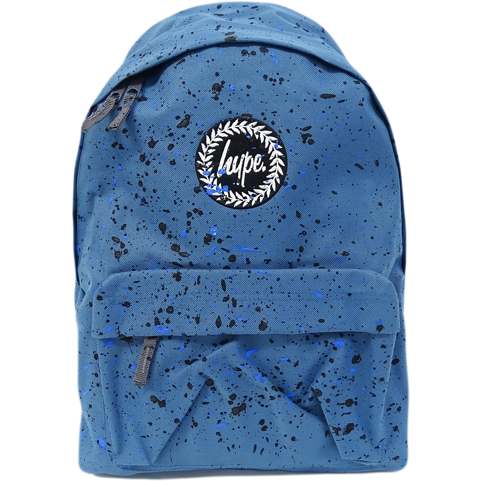 Hype Backpack Bag - Splatter Airforce Blue with Black and Navy