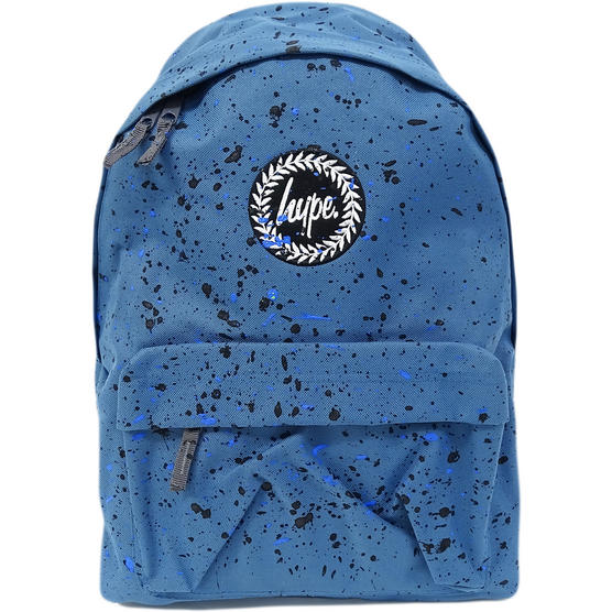 Hype Backpack Bag - Splatter Airforce Blue with Black and Navy Thumbnail 1