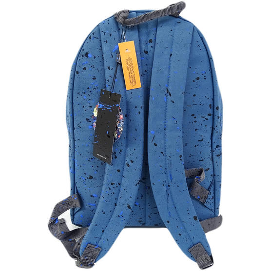 Hype Backpack Bag - Splatter Airforce Blue with Black and Navy Thumbnail 2