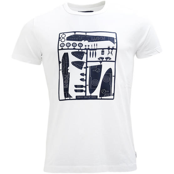 Fcuk White Slim Fit T Shirt - 56GAV Thumbnail 1