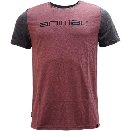 Animal T-Shirt with Contrast Back and Arms - J012 Thumbnail 2