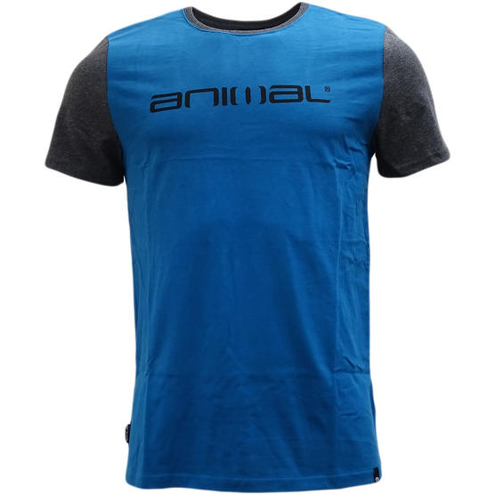 Animal T-Shirt with Contrast Back and Arms - J012 Thumbnail 4