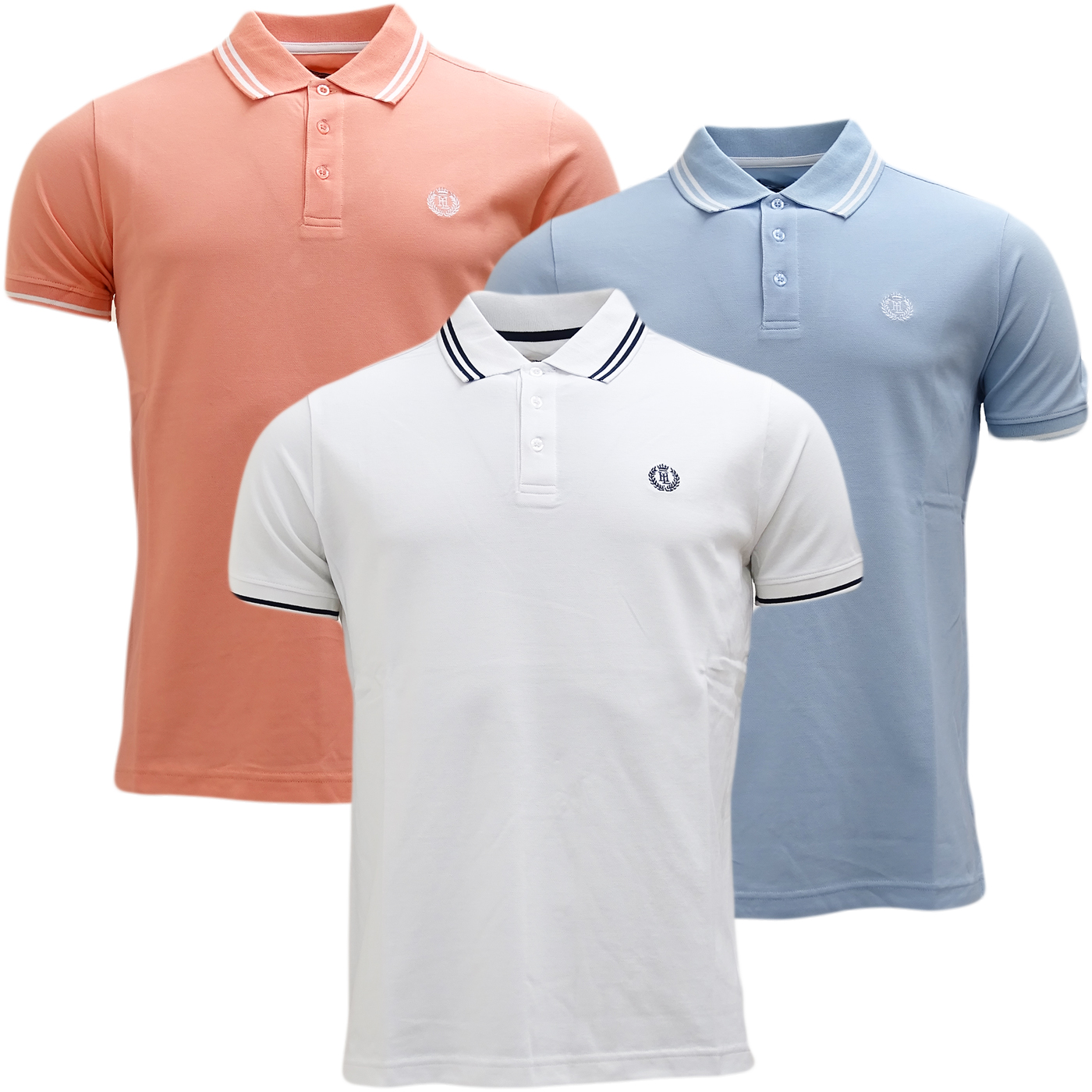 Henri Lloyd Plain Pique Polo Shirt - Byron