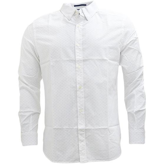 FCUK Long Sleeve Polka Dot Shirt - 52GCI Thumbnail 2