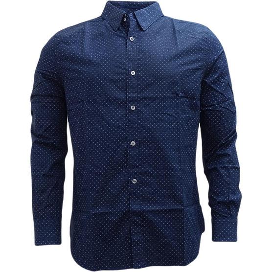 FCUK Long Sleeve Polka Dot Shirt - 52GCI Thumbnail 5