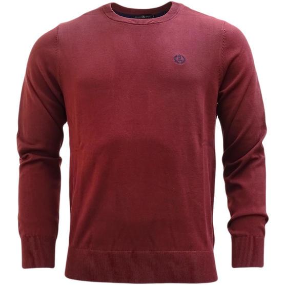 Henri Lloyd Plain Lightweight Knitted Jumper - Moray Thumbnail 2