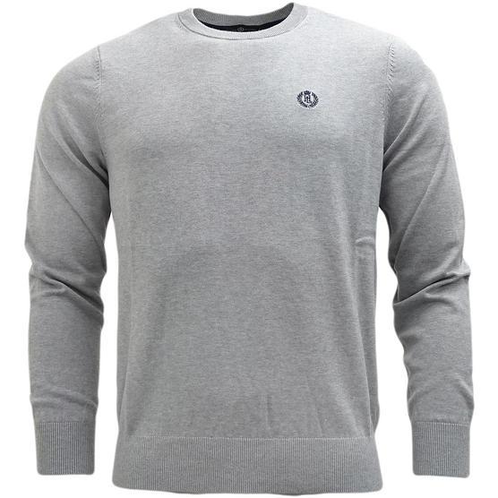 Henri Lloyd Plain Lightweight Knitted Jumper - Moray Thumbnail 3