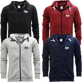Just Hype Hoodie Sweatshirt Zip Jumper