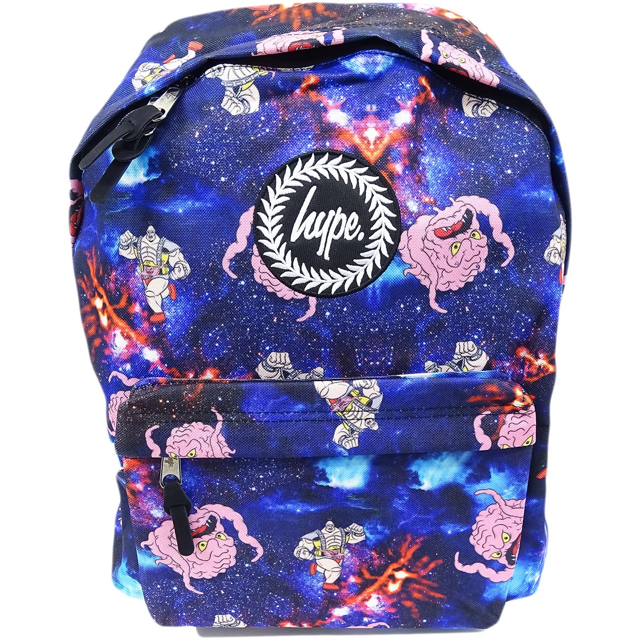 Hype Backpack Bag - School / Work / Gym Backpack - Space Krang