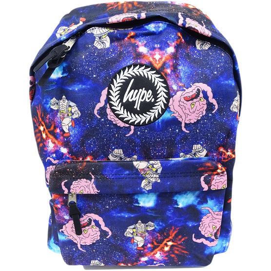 Hype Backpack Bag - School / Work / Gym Backpack - Space Krang Thumbnail 1