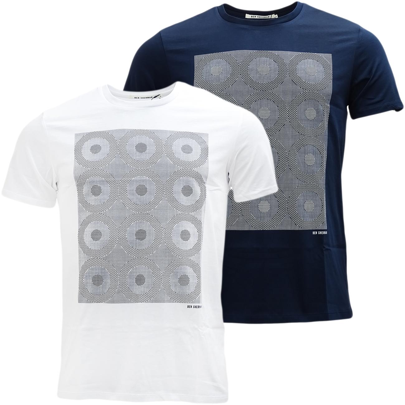 Ben Sherman Target Squares T Shirt - MB13084