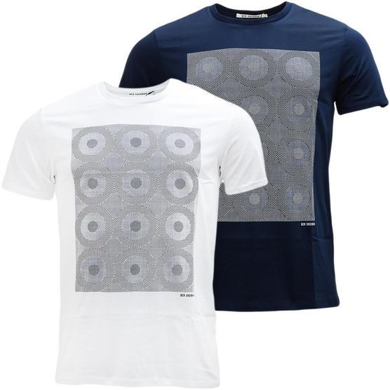 Ben Sherman Target Squares T Shirt - MB13084 Thumbnail 1