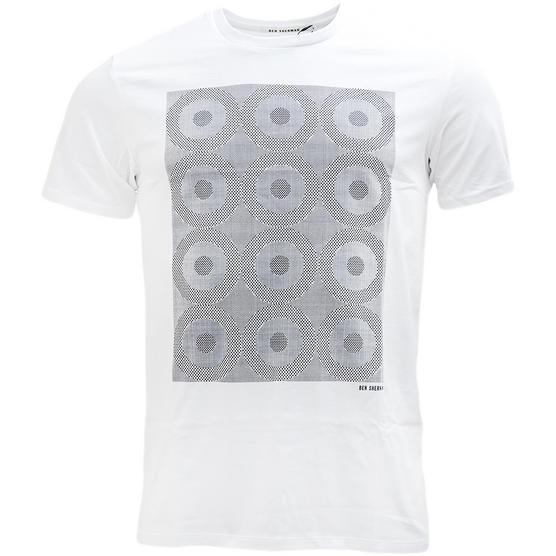 Ben Sherman Target Squares T Shirt - MB13084 Thumbnail 2