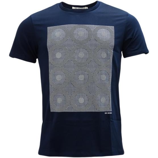 Ben Sherman Target Squares T Shirt - MB13084 Thumbnail 4