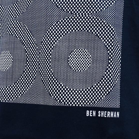 Ben Sherman Target Squares T Shirt - MB13084 Thumbnail 5