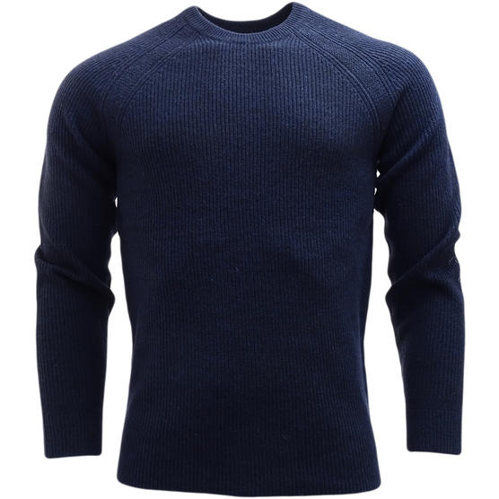 Ben Sherman Ribbed Lambswool Jumper - Slim Fit - ME13070 Thumbnail 2
